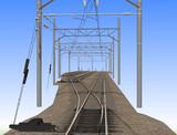 狭軌の分岐線路