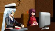 【MMDイベント】ゲームで遊んでいる艦娘達【MMD艦これ】