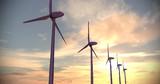 【MMDモデル配布】モブ風力発電機(日立HTW2.0-86)