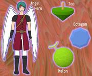 ATOM (Angel-hero, Top, Octagon, Melon)