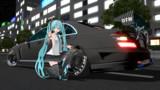【MMD】いつもこの車高で走ってます【初音ミク】