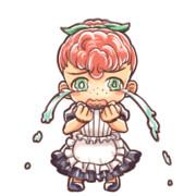 絵本風味な泣き虫メイド