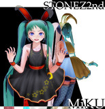 STONE式MiKU_ゴスバニ1P モデル配布