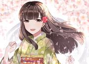 紗枝はんと桜