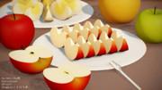 りんごセット(MMDアクセサリ配布)