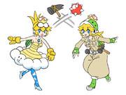 ジュゲム姫・ハンマーブロス姫