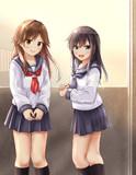 放課後の姉妹
