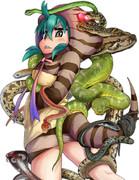 ツチノコと蛇♪