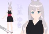 【配布】うさぎ娘モデルV2.1【MMDオリキャラ】