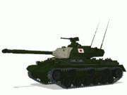 【MMD陸軍】 61式戦車 自動回転仕様改造