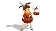 かぼちゃを着てみたぜ!配布