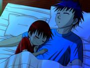 添い寝兄弟