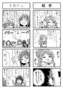 ミリマス4コマ「王様ゲーム」「軽食」