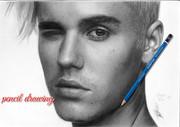 Pencil drawing_Justin Bieber