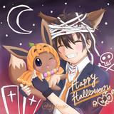 Halloween with イーブイ!