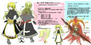 【 #コンパスヒーローデザインコンテスト2 】女牧師見習いの少女