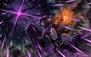 蛾竜と隻腕の魔女