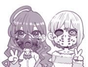 マスクしたしきフレ