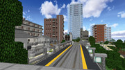 【Minecraft win10】舞田市の風景