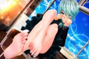【織木野学園シリーズ】ククちゃんの かわいい足裏…♡