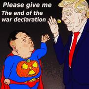終戦宣言ください・・・