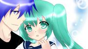 KAITO&ミク