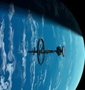 雲と宇宙船