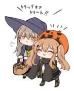 ハロウィンUMP姉妹