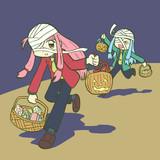 ハロウィン琴葉姉妹