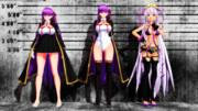 【Fate/MMD】BBちゃんの比較
