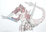 裂刀怪獣バギラ