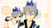 【MMDあんスタ】お誕生日の王冠【アクセサリ配布】