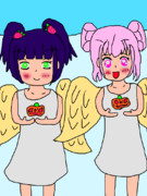11月 真のハロウィン 天使の施し 萌田薫子×市枝いちご