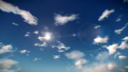 【MMD】多重スクロールして雲が流れるスカイドーム【ステージ配布】