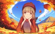 秋の依田芳乃さん
