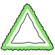 三角のゴーヤー