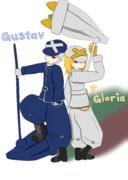 【ポケ擬】うちのグスタフとグロリア