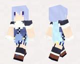 【minecraft】イフェイオン(花騎士) スキン(サンプル)