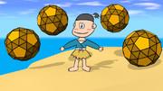 変形十二面体と浦島太郎