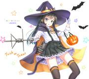 ハロウィンノーマル朝潮ちゃん+猫耳バージョン!