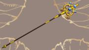 【MMDゴブリンスレイヤー】女神官ちゃんの錫杖(物理入り)【MMDアクセサリ配布】
