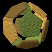 十二面体のクッキー