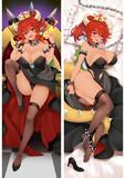 スーパーマリオ クッパ姫 褐色赤髪Ver. 抱き枕カバー