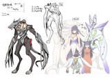 S・SOシナリオ 敵デザインラフ02