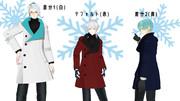 【MMD衣装配布】冬物コート