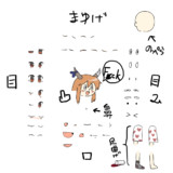 comfy姉貴表情分割素材+α