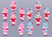 【Minecraft】琴葉姉妹:コトメリ衣装【Alex】