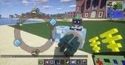 #Minecraft アクションチャネルとモーションチャネル  #JointBlock