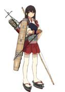 Hachiキャラ素材:艦隊これくしょん 赤城