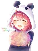 お誕生おめでとう。